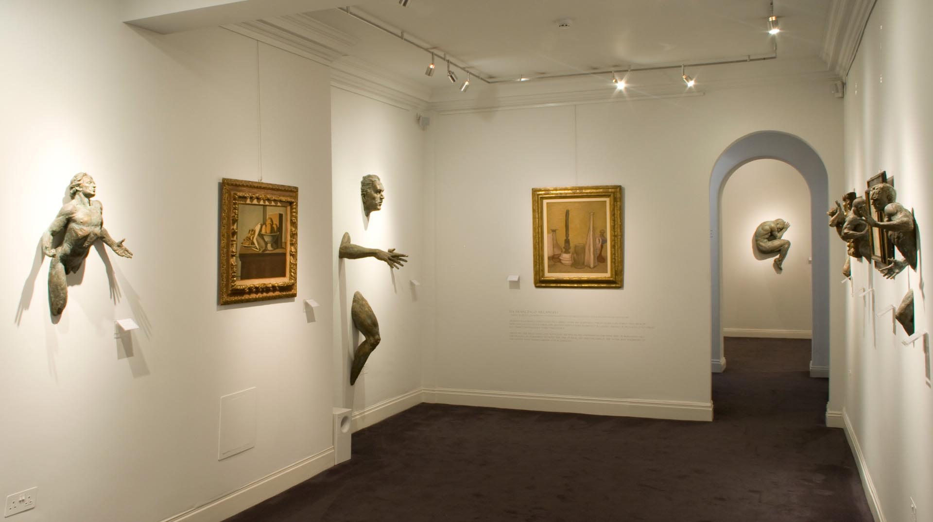 museum track lighting. Lighting Design International Was Commissioned To Illuminate The Imago Art Gallery In Clifford Street, A Centre For Italian London, Using Versatile Museum Track